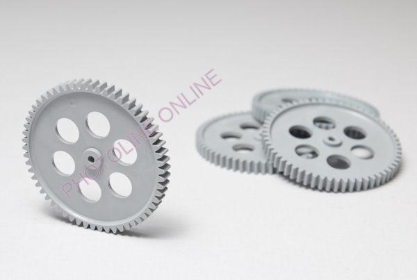 Fogaskerék D=60 mm, 9 mm külső-, 3 mm belső furat