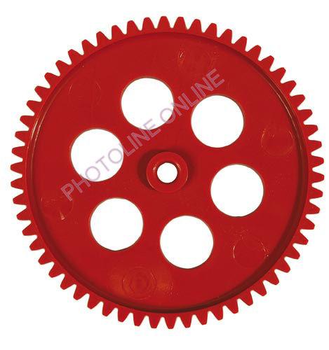 Fogaskerék D=60 mm, 6 mm külső-, 4 mm belső furat