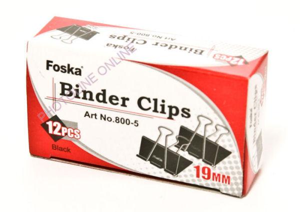 Binder papírcsipesz 19 mm