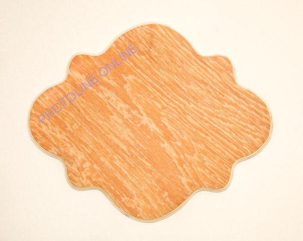 Fa íves lap 33 x 27 cm, ovális