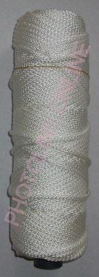 Kötöző zsinór, 3 mm erős, fehér szín