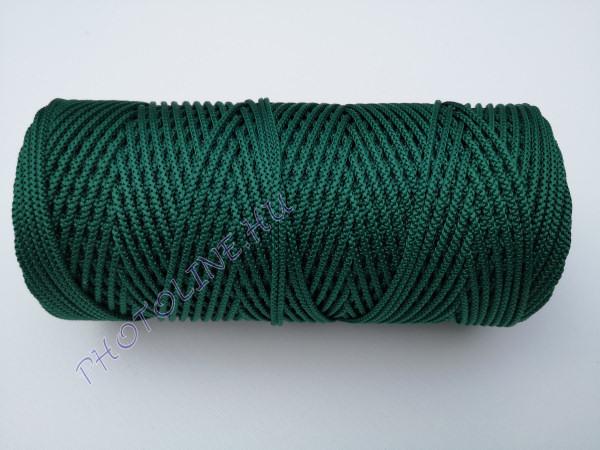 Kötöző zsinór, 3 mm erős, középzöld szín