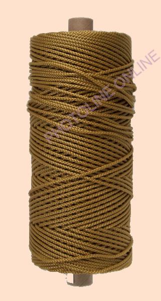 Kötöző zsinór, 3 mm erős, aranysárga szín