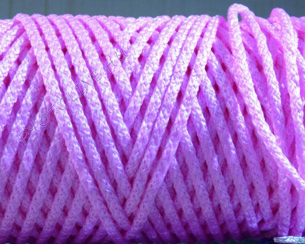 Kötöző zsinór, 5 mm erős, rózsaszín