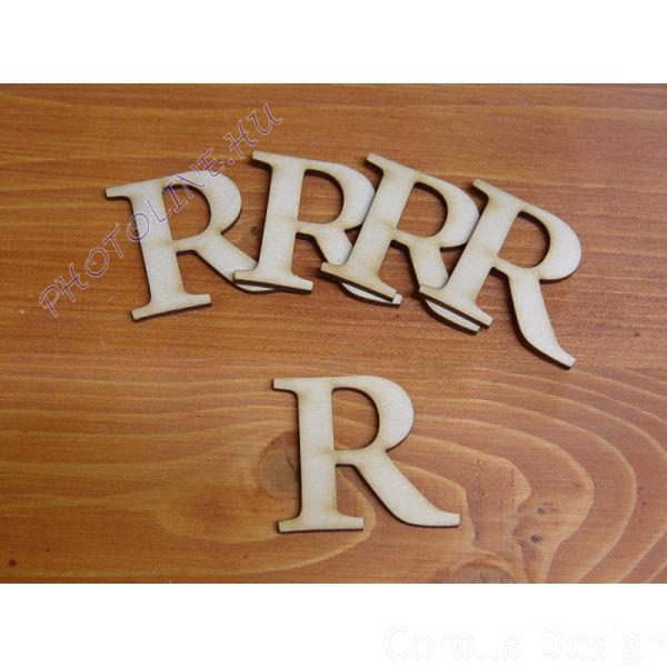 Fa betűk ABC 50 mm, darabra, R betű