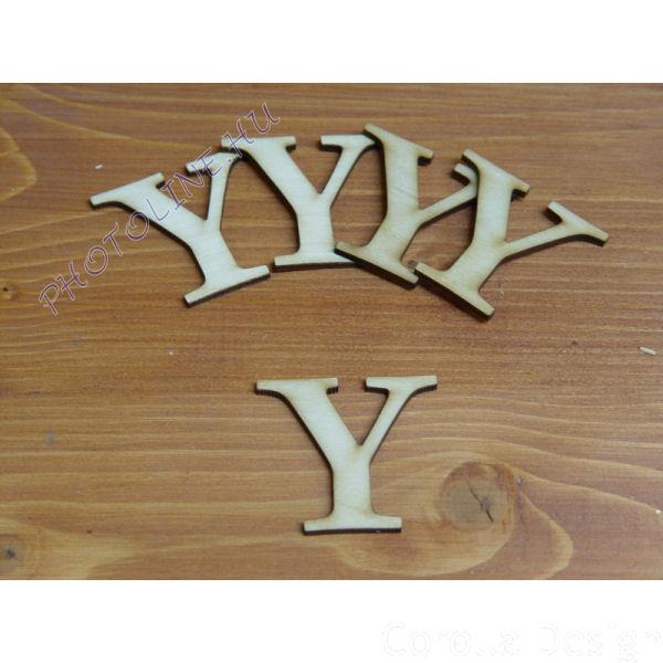 Fa betűk ABC 50 mm, darabra, Y betű