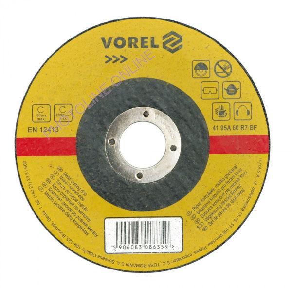 Vágókorong fémhez, vékony, 115x1x22 mm (106901)
