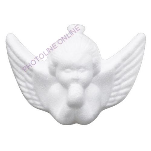 Hungarocell függődísz, angyalka, 9x6 cm