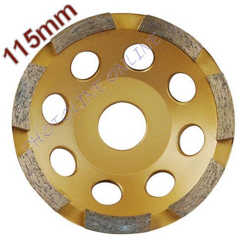 Gyémántcsiszoló Korong 115mm x 22,2mm egysoros (8803111)