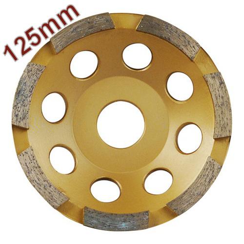 Gyémántcsiszoló Korong 125 mm x 22,2mm egysoros (8803112)