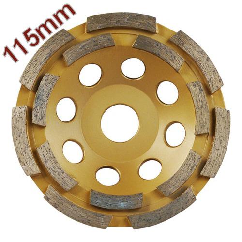 Gyémántcsiszoló Korong 115mm x 22,2mm kétsoros (8803121)