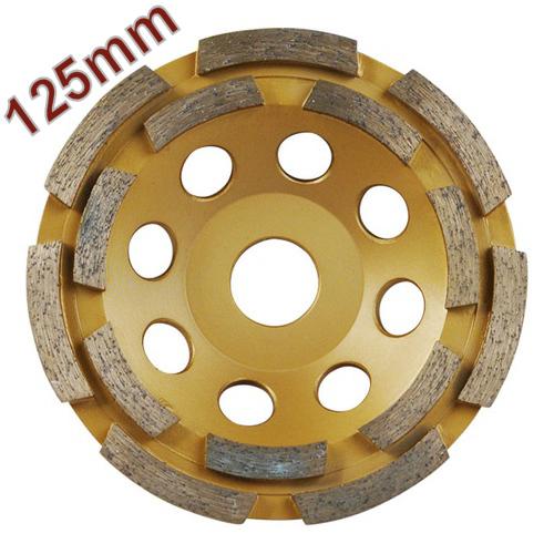 Gyémántcsiszoló Korong 125mm x 22,2mm kétsoros (8803122)