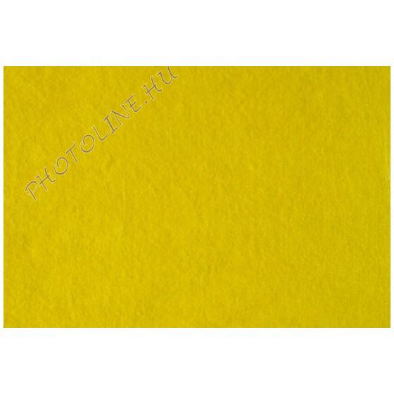 Puha filclap A/3, citromsárga
