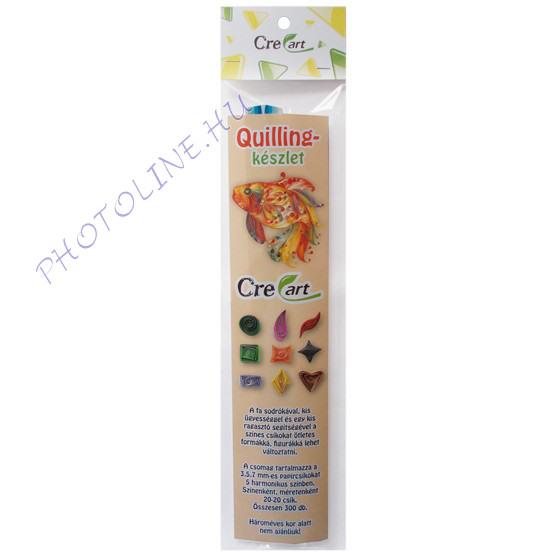 Quillingpapír készlet 300 csík, égbolt színei