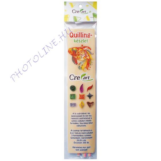 Quillingpapír készlet 300 csík, virágzó viola színei