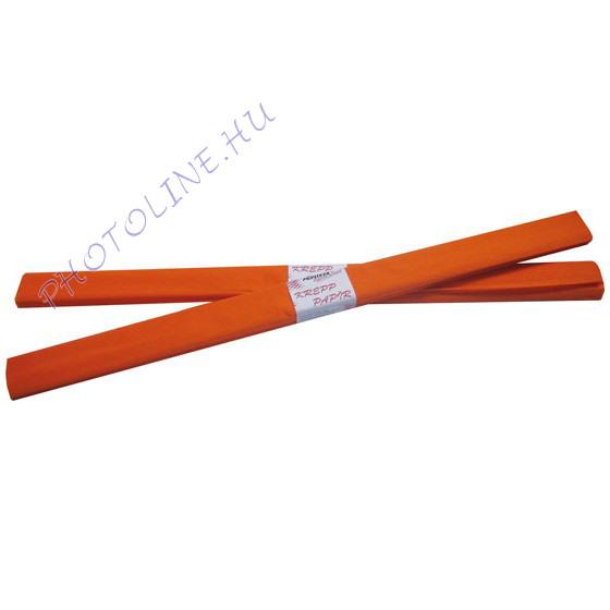 Krepp papír tekercs 50x200 cm, narancs - 15