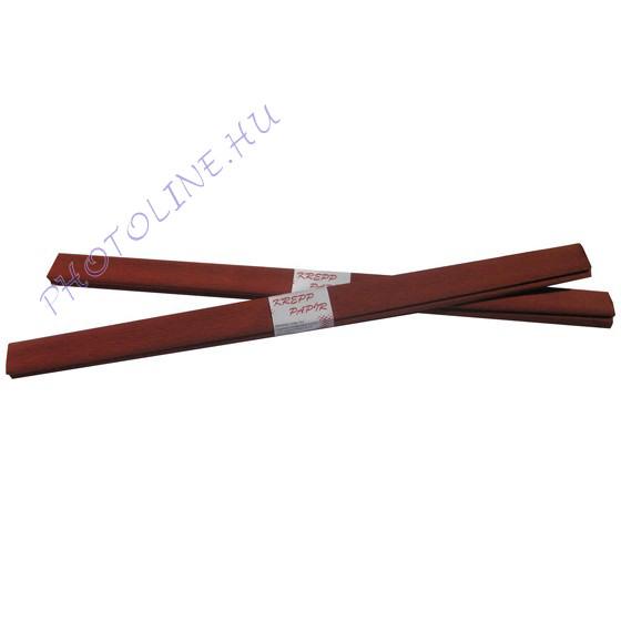 Krepp papír tekercs 50x200 cm, barna - 43