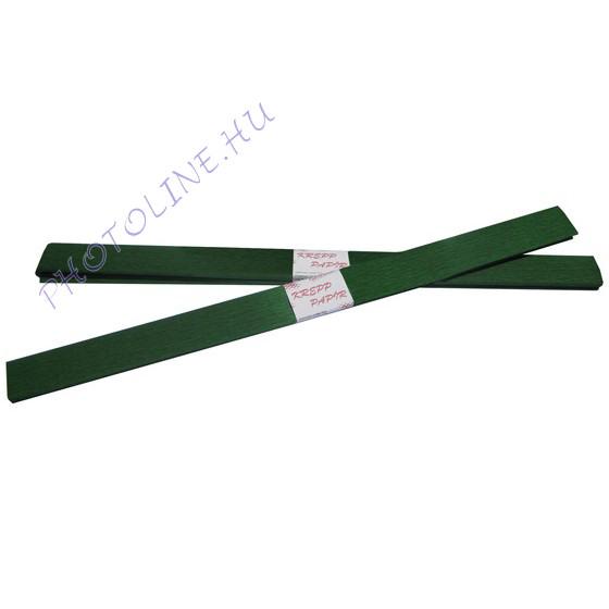 Krepp papír tekercs 50x200 cm, sötétzöld - 13