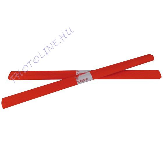 Krepp papír tekercs 50x200 cm, narancsvörös - 24