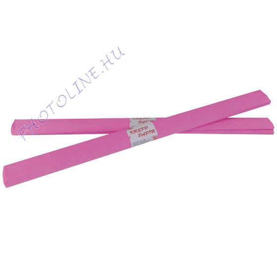 Krepp papír tekercs 50x200 cm, rózsaszín - 04