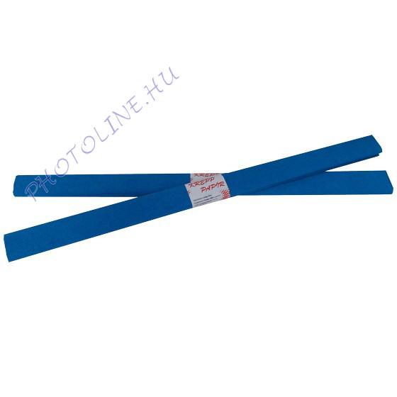 Krepp papír tekercs 50x200 cm, kék - 08