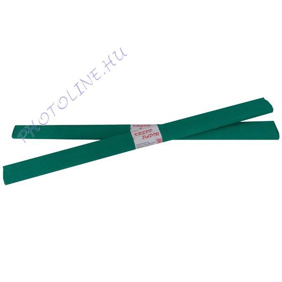 Krepp papír tekercs 50x200 cm, zöld - 10
