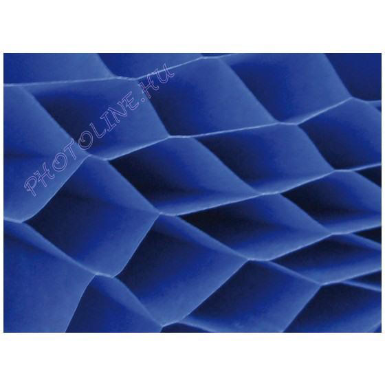 Méhsejtpapír 25x35 cm, kék