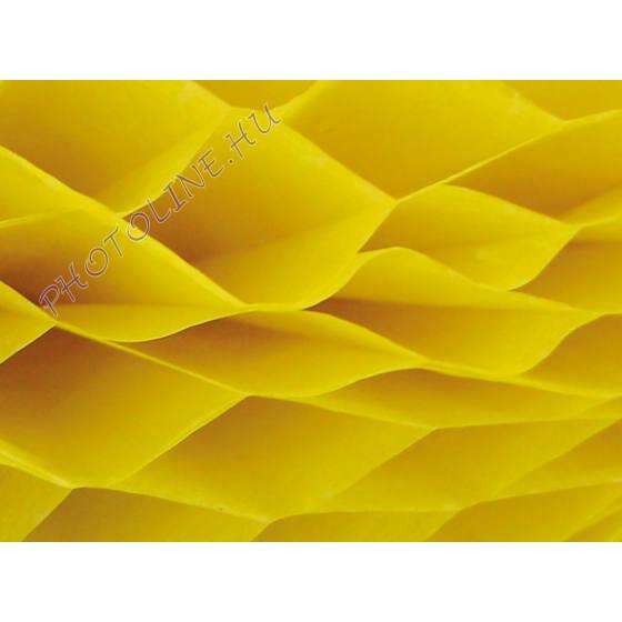 Méhsejtpapír 25x35 cm, citromsárga