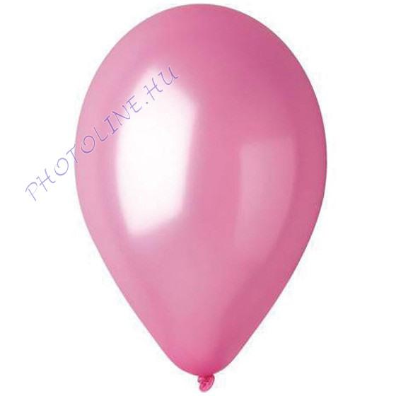 Léggömb - lufi, 25 cm, pink