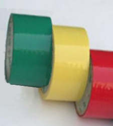 Színes cellux, 12mm / 10 méter, zöld