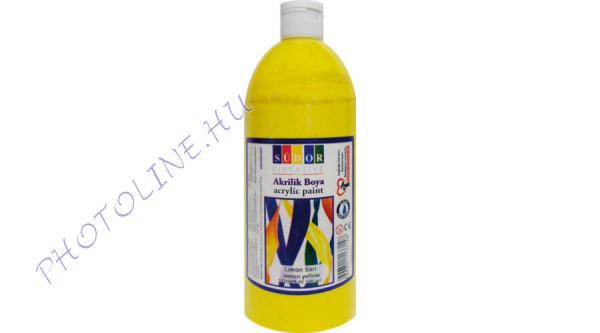 Südor XL akrilfesték 500 ml, citromsárga