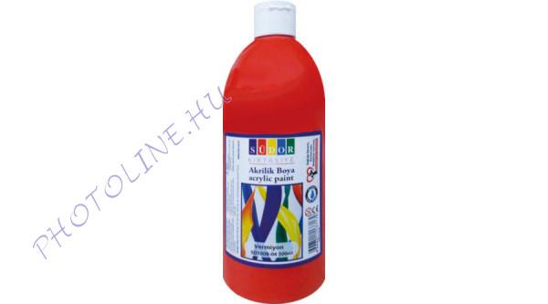 Südor XL akrilfesték 500 ml, piros