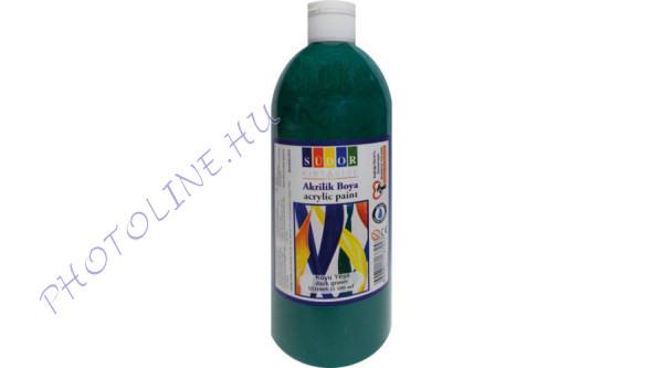 Südor XL akrilfesték 500 ml, sötétzöld