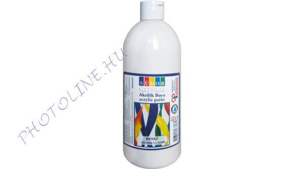 Südor XL akrilfesték 500 ml, fehér