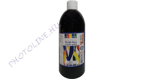 Südor XL akrilfesték 500 ml, fekete