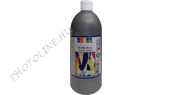 Südor XL akrilfesték 500 ml, metál ezüst