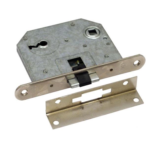 Bevésőzár, 55×55×20mm, 1 kulcsos, LŐVÉR típusú
