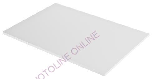 Kemény habszivacs fehér A3 méret, kasírozott, 10 mm