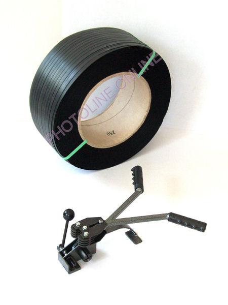 Pántológép induló szett, 12 mm-es, nagy roll szalaggal