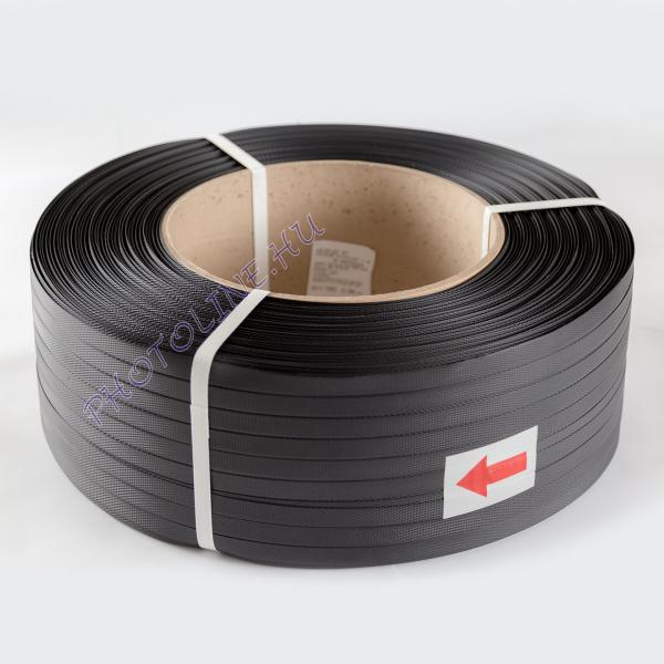 Pántolószalag, PP, 16 mm-es géphez, 1400m, fekete
