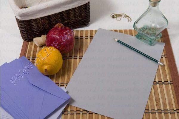 Színes papír A/4 100db, 80 gr, ezüstszürke