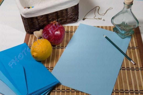 Színes papír A/4 100db, 80 gr, kék