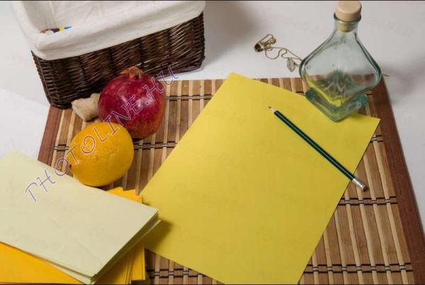 Színes papír A/4 100db, 80 gr, sárga