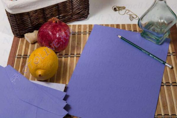 Színes papír A/4 100db, 80 gr, lila