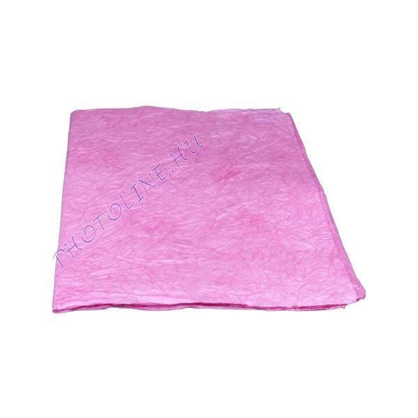 Mártott gyűrt papír, 60x80 cm, pink