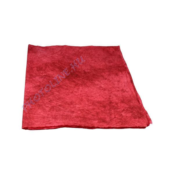 Mártott gyűrt papír, 60x80 cm, piros