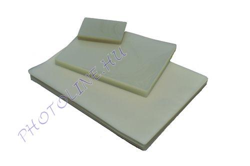 Lamináló fólia 54x86 mm víztiszta, 100db/doboz