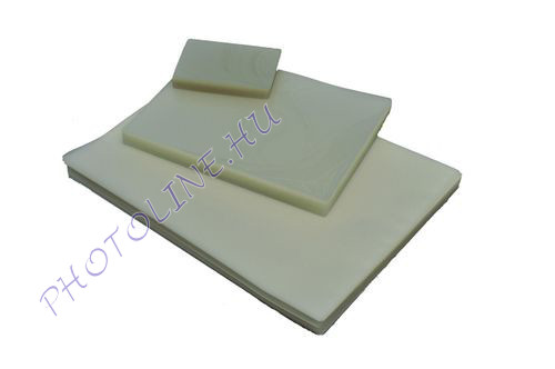 Lamináló fólia A/6 80 micron víztiszta, 100db/doboz