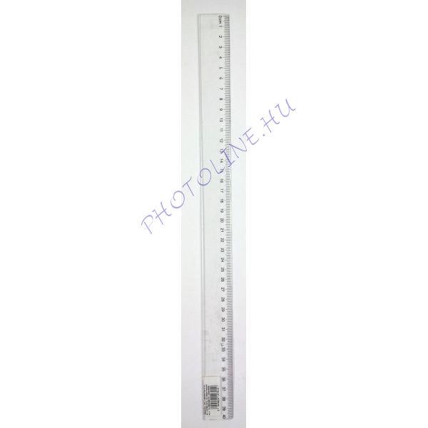 Vonalzó átlátszó, 40 cm