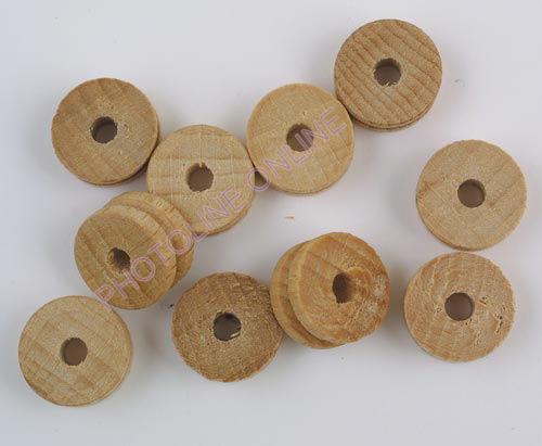 Bükk-kerék kötélhelyes 20x10 mm, 4 mm furat, 1 pár